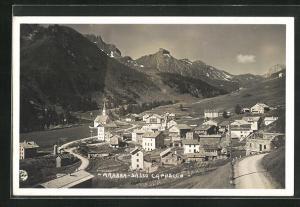 AK Arabba, Sasso Capello, Panorama
