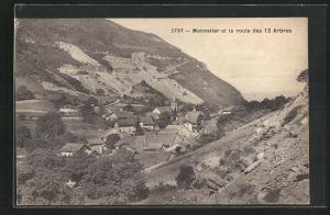 AK Monnetier, Panorama et la route des 13 Arbres