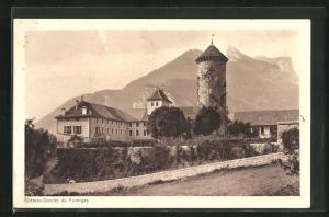 AK Faverges, Chateau-Ouvrier