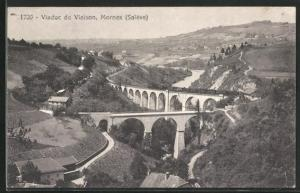 AK Mornex, Viaduc de Viaison