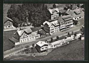 AK Wildhaus Passhöhe, Hotel Hirschen