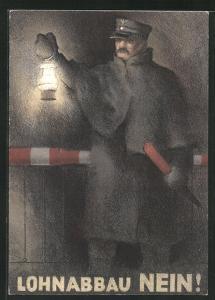 AK Lohnabbau Nein!, Eisenbahner, Schweiz, Arbeiterbewegung