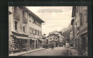 AK Saint-Gingolph, Léman - Frontière, Franco Suisse