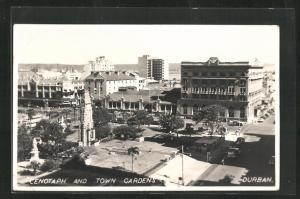 AK Durban, Cenotaph and Town Gardens