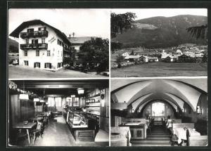 AK Pfalzen im Pustertal, Gasthof Jochele, vier Motive