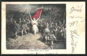 AK Die Marseillaise von G. Doré