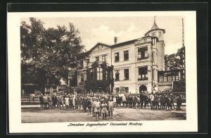 AK Misdroy, Ansicht vom Dresdner Jugendheim