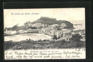 AK Sestri Levante, Panorama con vista dei due mari