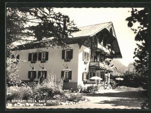 AK Bad Ischl, Schratt-Villa