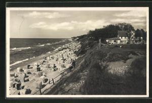 AK Ostseebad Rewahl, Strand Gesamtansicht