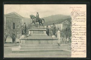 AK Ajaccio, Statue de Napoleon