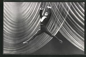 AK Balletttänzer Jaroslav Sekh tanz Paganini im Moskauer Bolschoi-Theater