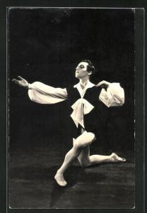 AK Balletttänzer Philip Kaesen in Les Sylphides