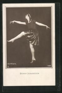 AK Ronny Johansson, Portrait der Tänzerin