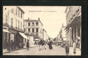 AK Rochefort-sur-Mer, La Rue Martrou