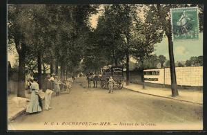 AK Rochefort-sur-Mer, Avenue de la Gare