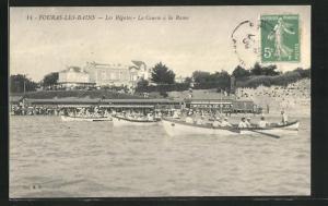 AK Fouras-Les-Bains, Les Régates, La Course á la Rame