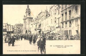 AK La Rochelle, Départ du 138