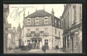 AK Bourges, Place des Quatre-Piliers