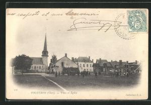 AK Vouzeron, Place et Eglise