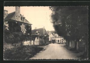 AK Villequiers, Place des Tilleuls