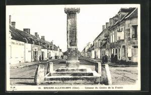 AK Bruere-Allichamps, Colonne du Centre de la France
