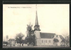 AK Vouzeron, L`Eglise et la Place