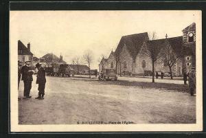 AK Boulleret, Place de l`Eglise