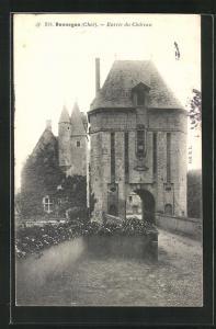 AK Bannegon, Entree du Chateau