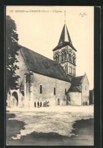AK Bengy-sur-Craon, L`Eglise, Totalansicht