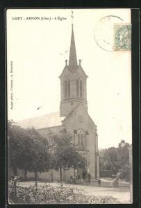 AK Lury-Arnon, L`Église, Ansicht der Kirche