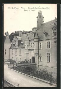AK Plou, Chateau de Castelnau, Entrée et Fossés
