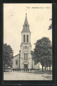AK Torteron, L`Église, Ansicht der Kirche