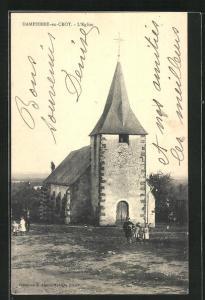 AK Dampierre-en-Crot, L`Église, Ansicht der Kirche