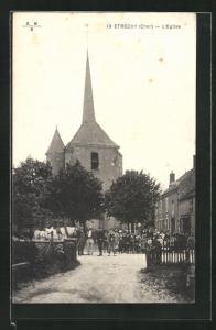 AK Etréchy, L`Église, Ansicht der Kirche