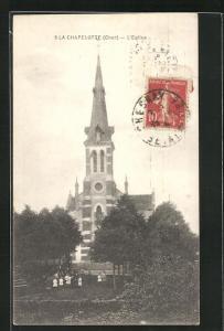 AK La Chapelotte, L`Église, Ansicht der Kirche
