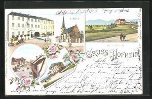 Ak Hofheim Amtsgerichtsstrasse Mit Gasthaus Zur Krone Und Auto Nr 10479794 Oldthing Ansichtskarten Bayern