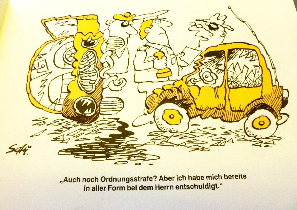 Karikaturen: DDR-Satire-Heftchen Verkehr(tes), Original aus DDR-Produktion, A5 2
