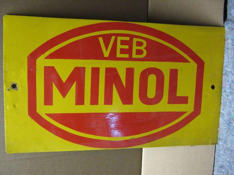 Werbung: DDR-Werbung VEB Minol/ Minol AG, Reise-Näh-Set, Original, noch in der DDR hergestellt, 1990 2
