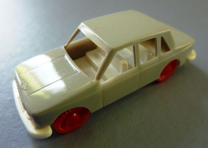 Modellauto: DDR-Modellauto Pkw Wartburg, Kunststoff, Original aus DDR-Produktion, 80er Jahre