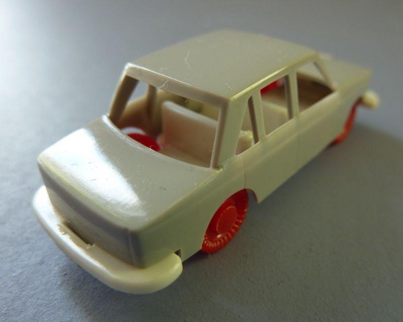 Modellauto: DDR-Modellauto Pkw Wartburg, Kunststoff, Original aus DDR-Produktion, 80er Jahre 1