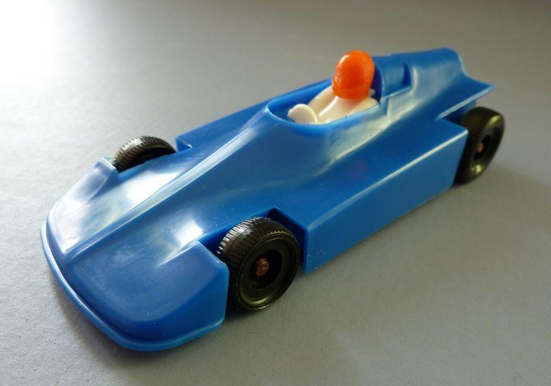 Modellauto: DDR-Modellauto - Rennsportwagen Wartburg HTS-3 Melkus Formel III, Kunststoff, Original aus DDR-Produktion, 80er Jahre 1