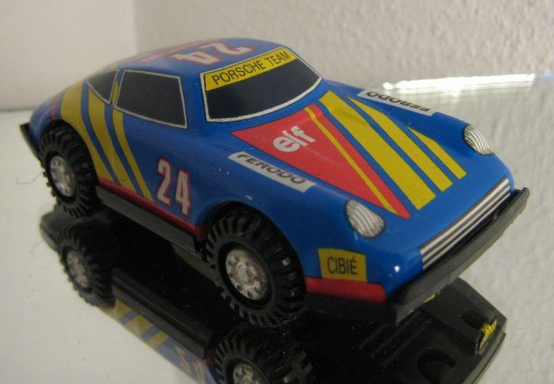 Modellauto: DDR-Modellauto - Pkw Porsche Turbo-Sport, MSB Brandenburg, Original aus DDR-Produktion, 1984-1989