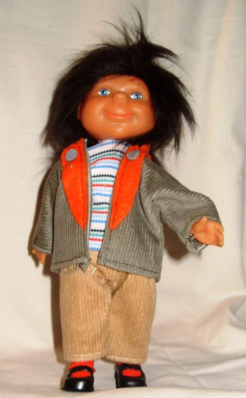 Puppen: DDR-Puppe, VEB Ziegelwerke Zehdenick, OVP, Original aus DDR-Produktion, 80er Jahre
