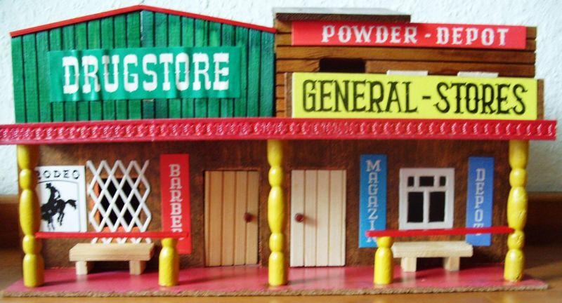 Spielzeug ddr westernhaus im doppelpack drugstore
