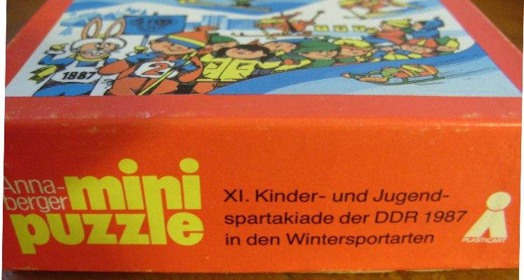 Spielzeug und sammeln ddr puzzle xi kinder