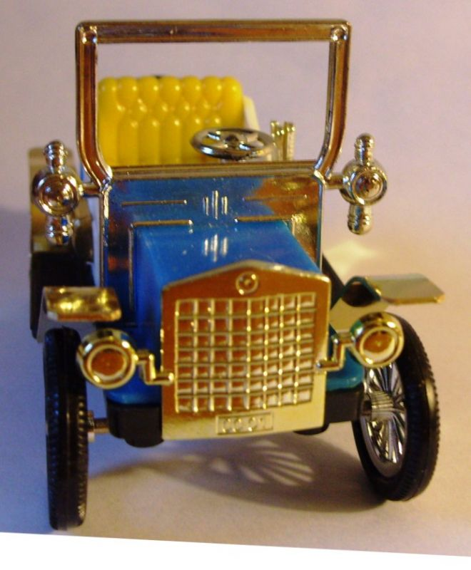 Modellauto: Oldtimer, Souvenir Verkehrsmuseum Dresden,  Maßstab 1:25, Original aus DDR-Produktion, 1978-1986