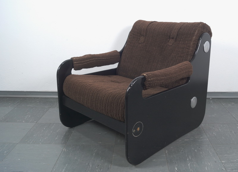 Pop Art Sessel Easychair Panton ära Frottee Bezug 60er 70er Six
