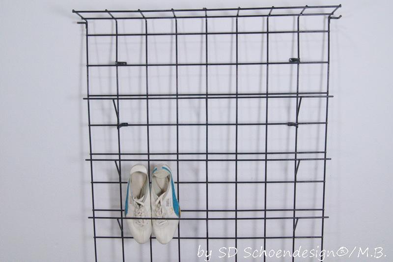 d nische string garderobe wand regal schuhgarderobe 50er. Black Bedroom Furniture Sets. Home Design Ideas