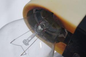 WEST DEUTSCHE STEHLAMPE FLOOR LAMP STAFF CHROM BODENLAMPE 60ER NEUER SCHIRM 7